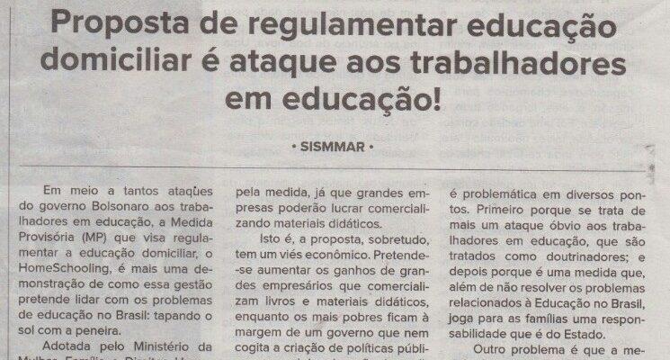 educação domiciliar