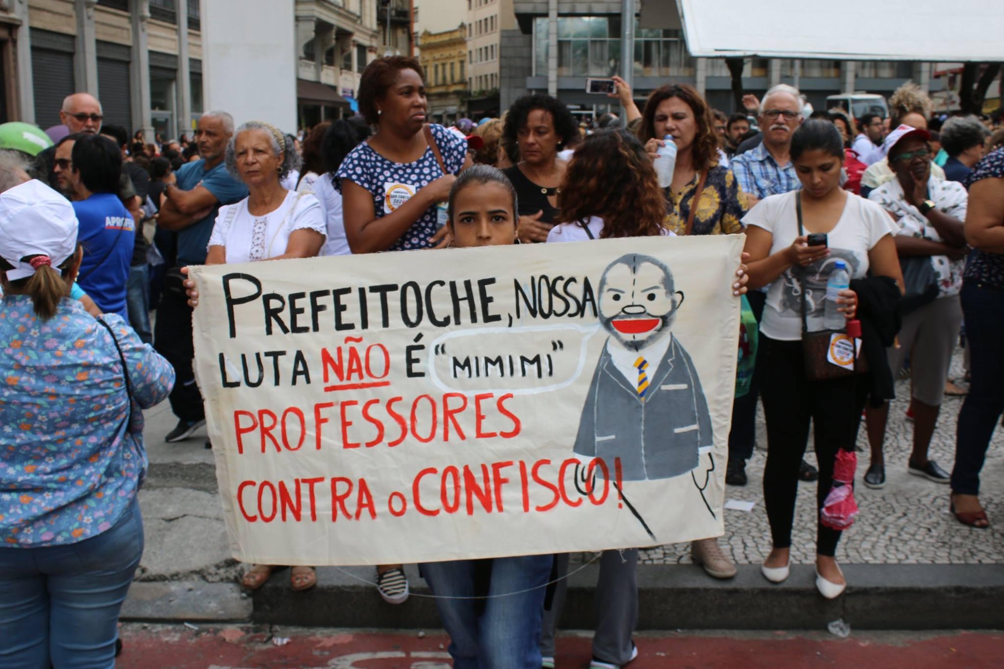 greve em São Paulo