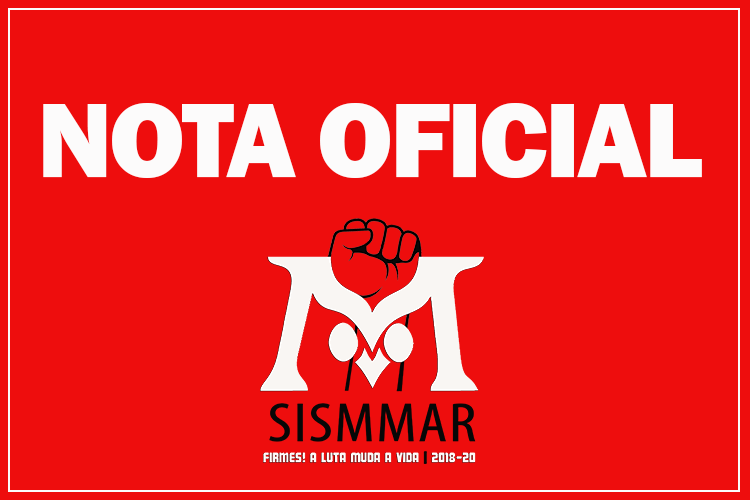 nota oficial Sismmar