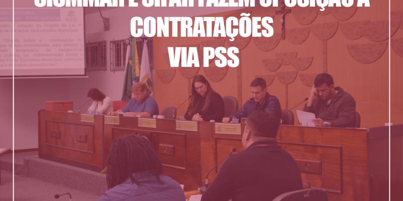 contratação via PSS
