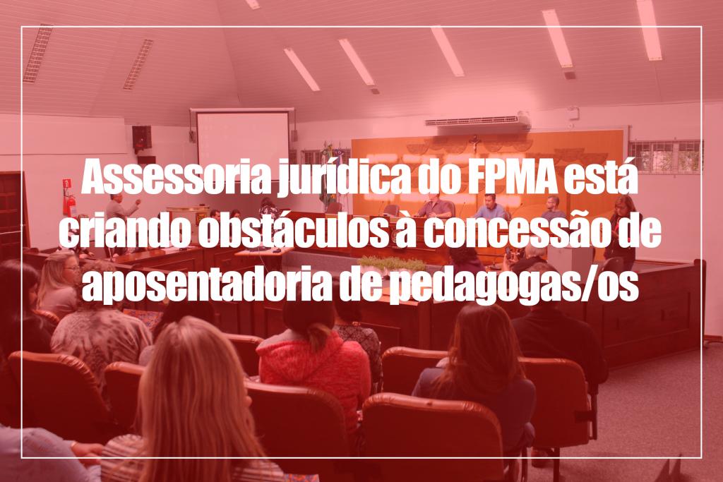 assessoria jurídica do FPMA
