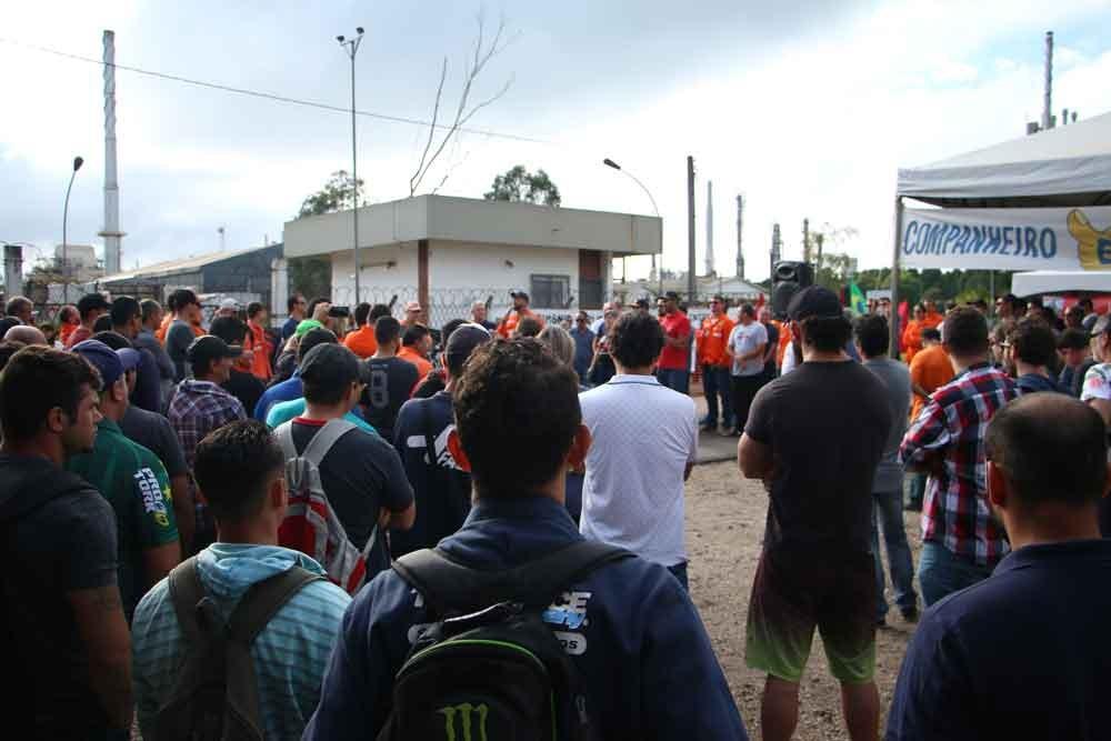 greve nacional Petrobras