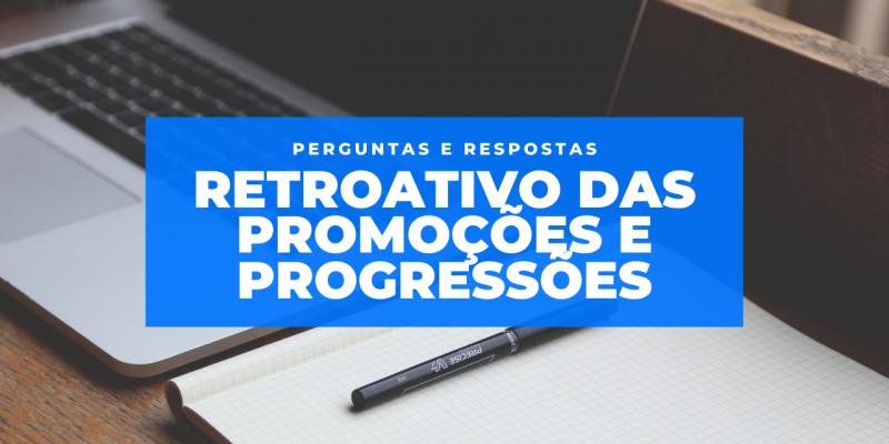 promoções e progressões