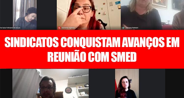reunião com SMED