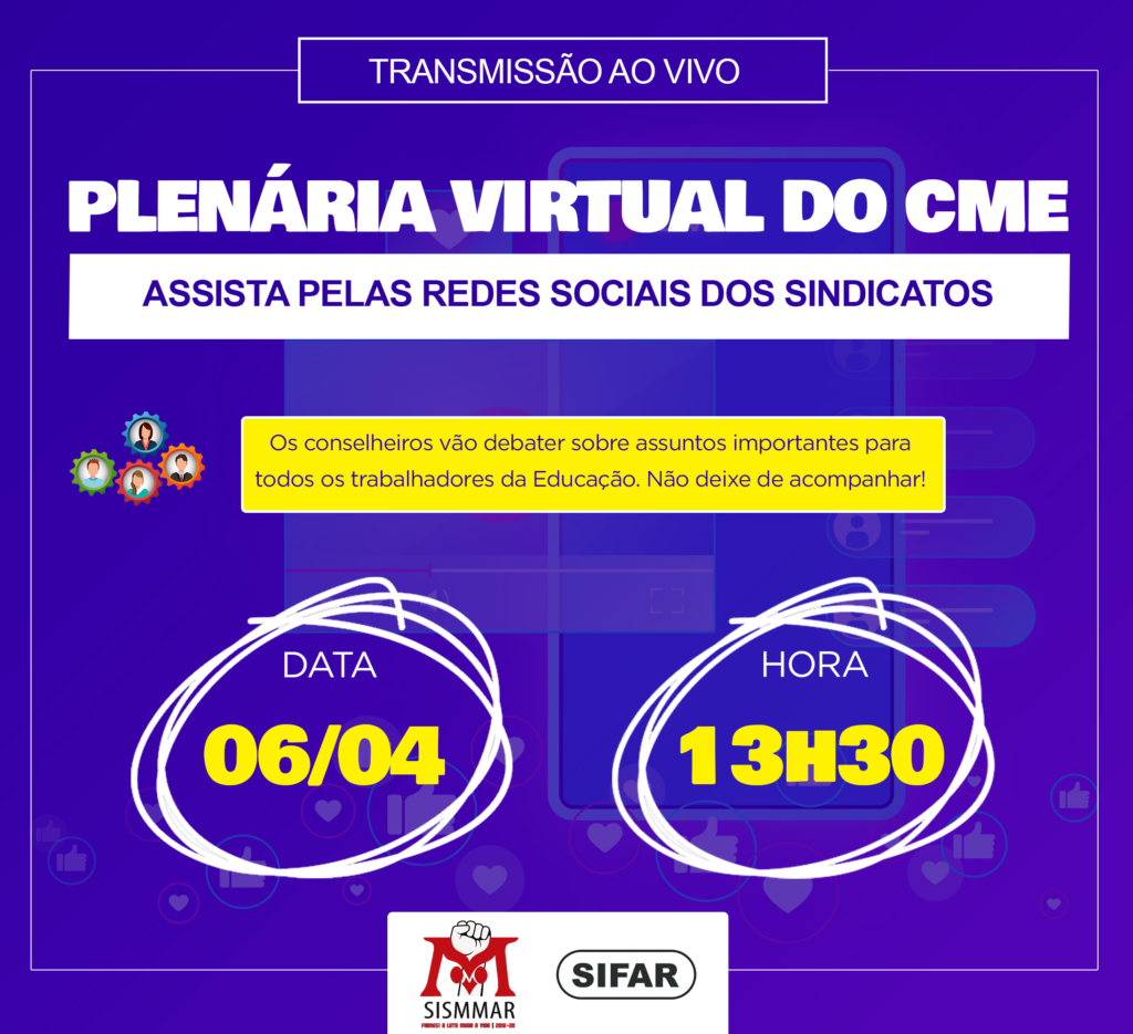 plenária do CME