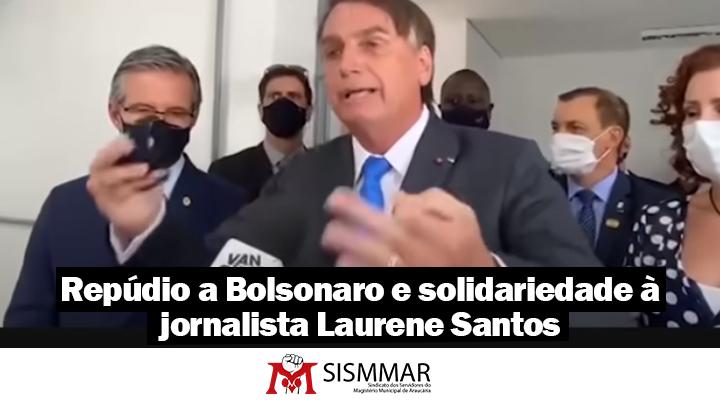 repúdio Bolsonaro