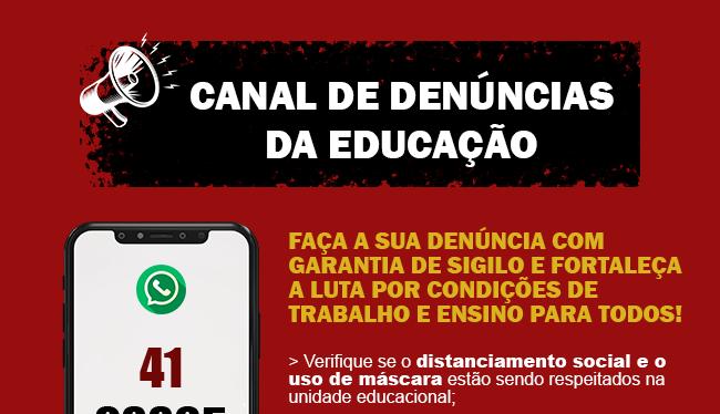 Canal de Denúncias da Educação