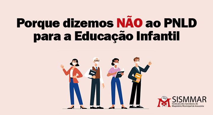 PNLD para a educação infantil